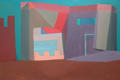 Combat Peace Quarters, Oil on Panel,2015