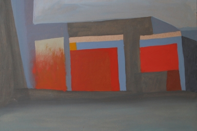 Memory Management Facility, Oil on Panel, 2015