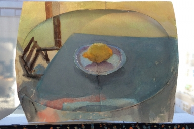 Still Life with Lemon, Watercolour on Paper, 2015