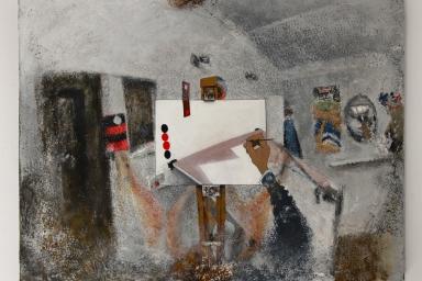 Studio painting 8 (White series)