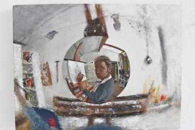 Studio painting 5 (White series)