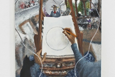 Studio painting 6 (White series)