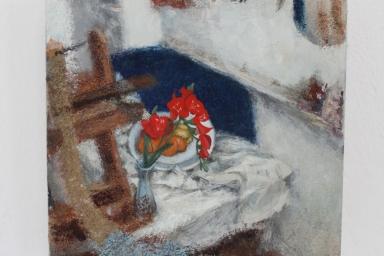 Studio painting 7 (White series)